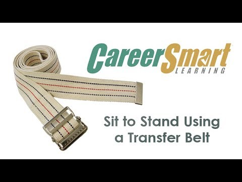 Using a Transfer Belt - Initial Certification Training for RCFE in ...