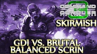 Ⓦ GDI vs. Brutal/Balanced Scrin ▪  Command & Conquer 3: Tiberium Wars [Patch 1.09]