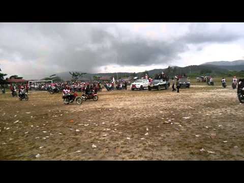how Papuan people celebrate