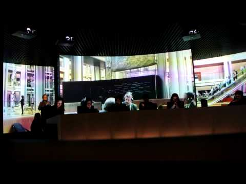 Parlamentarium Brussels - Education Video about the European Parliament
