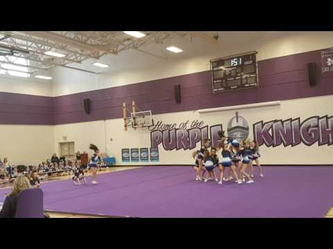 Lewisville Middle School @ Road to Legacy Cheerleading Challenge 1st pass