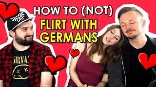 How to (not) Flirt with Germans - feat. GetGermanized & VlogDave