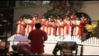 CHRISTMAS CAROL 2009 MAR THOMA THEOLOGICAL SEMINARY  song:neeharam choodum.avi