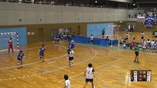 7日 ハンドボール女子 福島市国体記念体育館 Cコート 佼成女子vs玉野光南 3回戦 2
