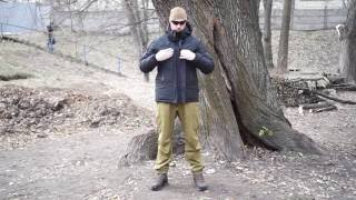 Видео обзор куртки зимней Montblanc c утеплителем