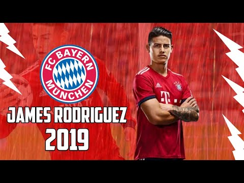 James Rodriguez 2018/19●Bayern Munich Magician-Rockabye-Goals, Skills & assists ||HD