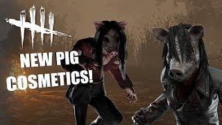 NEW PIG COSMETICS!   Dead By Daylight THE PIG GAMEPLAY
