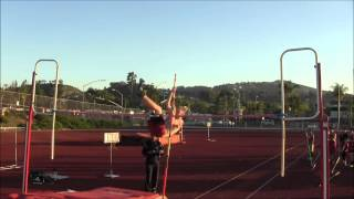 Mission Hills Pole Vault vs Ramona 3-12-2015 Joey Dear
