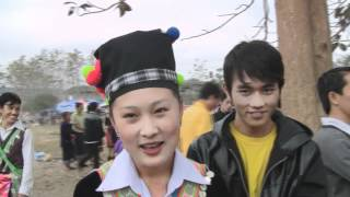 BEAUTIFUL HMONG GIRL IN LUANG PRABANG, LAOS NEW YEAR 2013 - NPAIM THOJ- FREE PHONE NUMBER