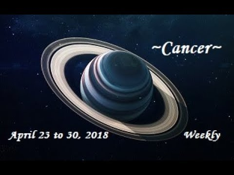 ~Cancer~Holding On to What? April 23 to 30, 2018 Weekly Tarot Reading