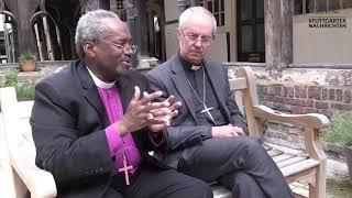 Bischof Michael Curry und Erzbischof von Canterbury über Royal Wedding