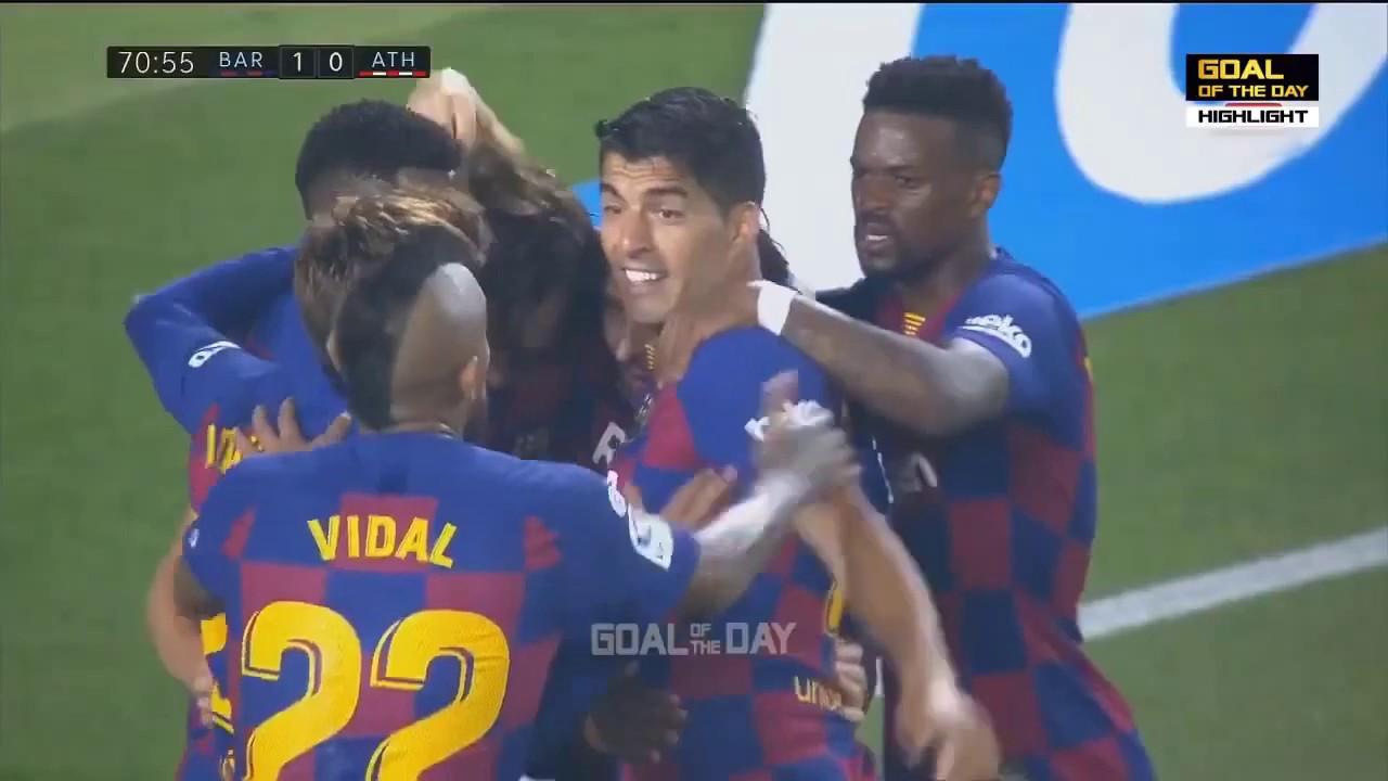 Barcelona vs Athletic Bilbao 1-0 | Goal & Extended ...