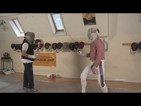 How To Do Sabre Fencing