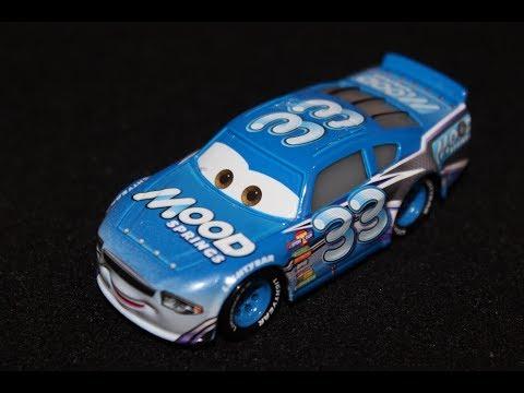 Mattel Disney Pixar CARS 3 ED TRUNCAN racer MOOD SPRINGS TEAM