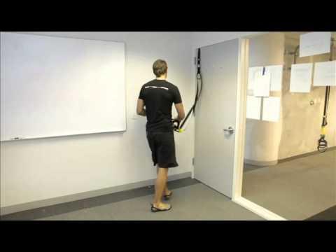 Trx Door Anchor Upper Body Workout Youtube