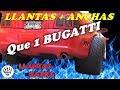 Llantas Super Anchas, Mas Que Las De Bugatti    ¿para Mi Mustang?
