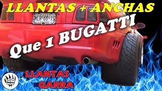 Gambar cover Llantas SUPER ANCHAS, Mas que las de BUGATTI--- ¿Para mi MUSTANG?