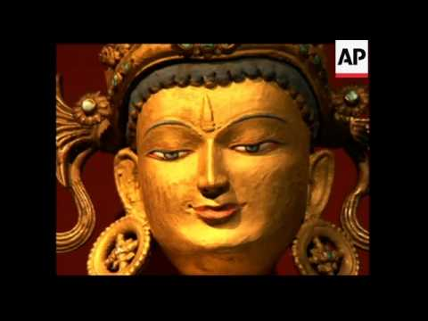 Rare Tibetan Art Goes On Display
