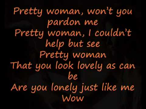 Roy Orbison-Oh Pretty Woman (with lyrics) poster
