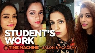 These makeup practices by our students are quite appretiative|