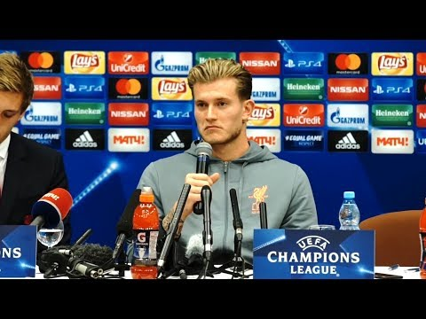 Loris Karius Full Pre-Match Press Conference - Spartak Moscow v Liverpool - Champions League