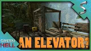 WE FOUND AN ELEVATOR? - Green Hell [Survival Gameplay E8]