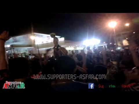 32 minutes de bonheur à Rabat avec les supporters de l'AS.FAR