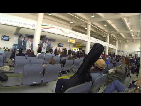 Addis Ababa Bole International Airport, Flight Boarding Area, Ethiopia, 18 Feb 16, GOPR0108