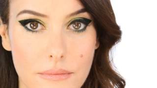 Anything Goes Liquid Eye Liner - Dark Olive Green Makeup Tutorial