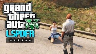 GTA 5 LSPDFR - Der brutale Tag eines Autobahn-Polizisten (Polizei Mod)