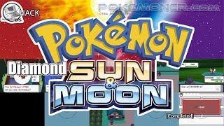 Pokemon Diamond Sun and Moon - Gameplay