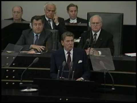 President Reagan's Address to the Bundestag, Bonn, Federal Republic of Germany, June 9, 1982