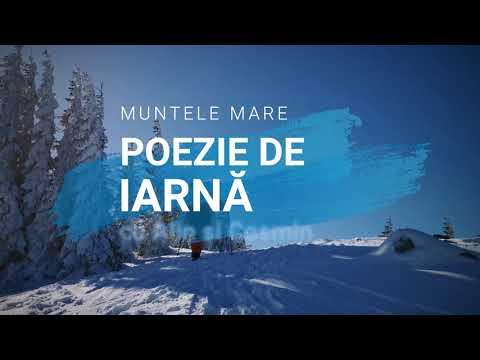 Muntele Mare. Poezie de iarnă