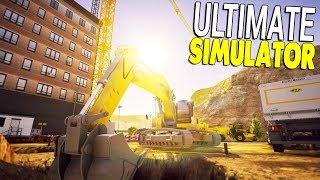 BEST CONSTRUCTION SIMULATOR YET & CATERPILLAR EQUIPMENT | Construction Simulator 2 Gameplay
