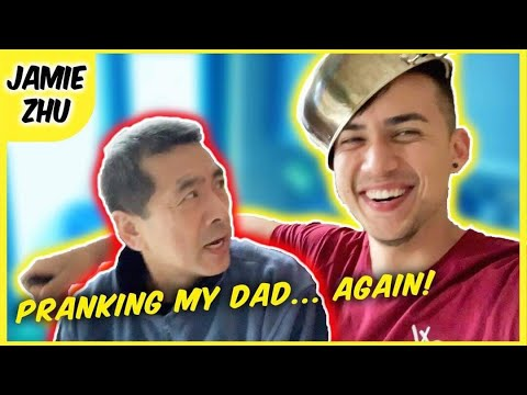 PRANKING MY DAD...AGAIN! #JesusJamie
