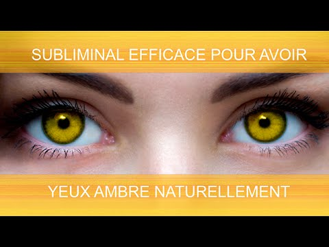 yeux couleur ambre naturellement supersubliminal youtube. Black Bedroom Furniture Sets. Home Design Ideas