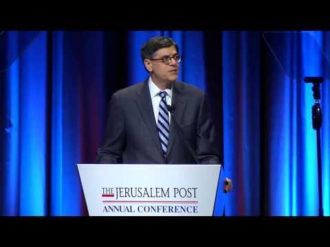 Jpost Annual Conference: Jacob J.Lew, US Secretary of the Treasury
