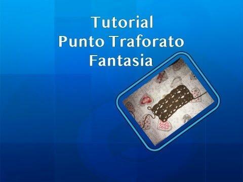 Amato Tutorial uncinetto: punto traforato fantasia facilissimo - YouTube LD29