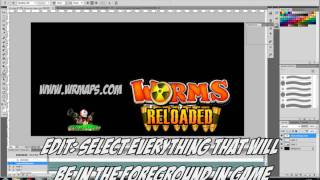 Worms Reloaded Beginners Map Making Tutorial Guide HD