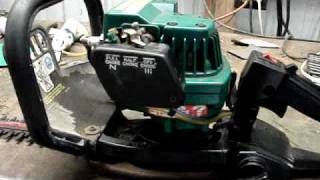 fixing the weed eater hedge trimmer s fuel lines
