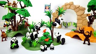 Playmobil Wild Animals Pandas and Monkeys Playset Fun Toys For Kids