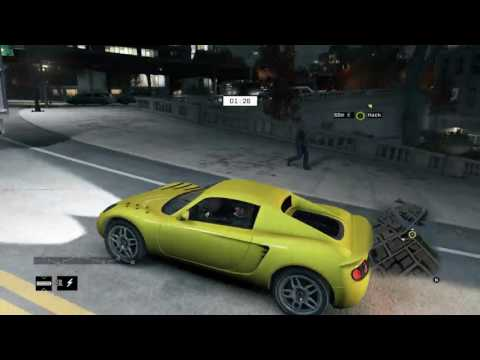 Watch_dogs Online hacking: Car stunt to a camper