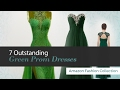 7 Outstanding Green Prom Dresses Amazon Fashion Collection