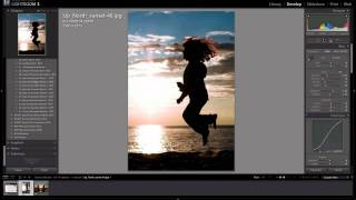 How to edit silhouettes in Lightroom (Using Lightroom Presets)