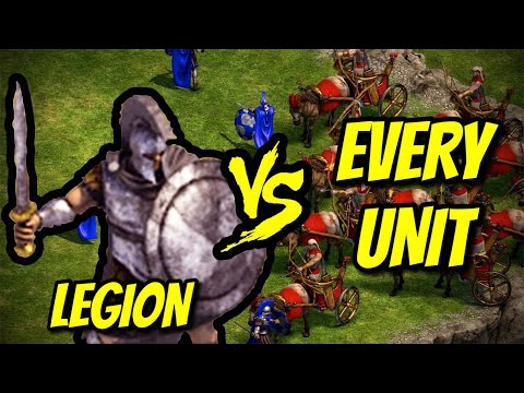 LEGION vs EVERY UNIT   Age of Empires: Definitive Edition  
