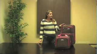 Rockland F102 Rio Upright Carry-On & Tote 2-Piece Luggage Set Thumbnail