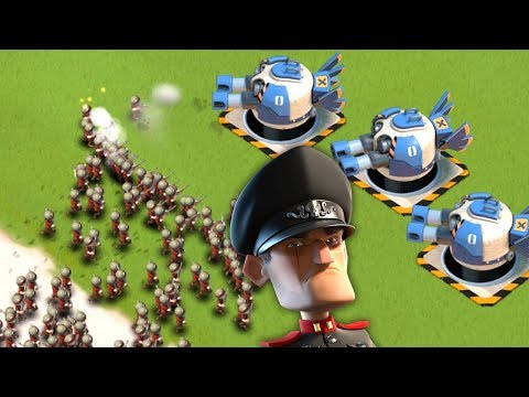 Hidden Boom Surprises vs Hammerman! Boom Beach 3 MAX Prototypes!