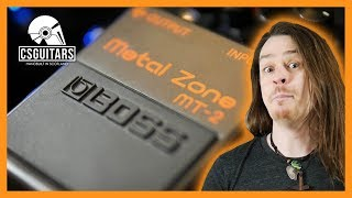 Metal Zone: History and Infamy of the MT-2