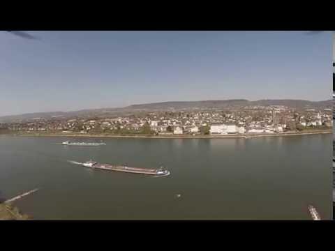 Kaltenengers mit Blick zum Schloss Engers am Rhein