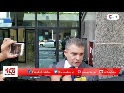 """García respondió sobre """"contrato simulado por conferencia"""" - 10 minutos Edición Noche"""